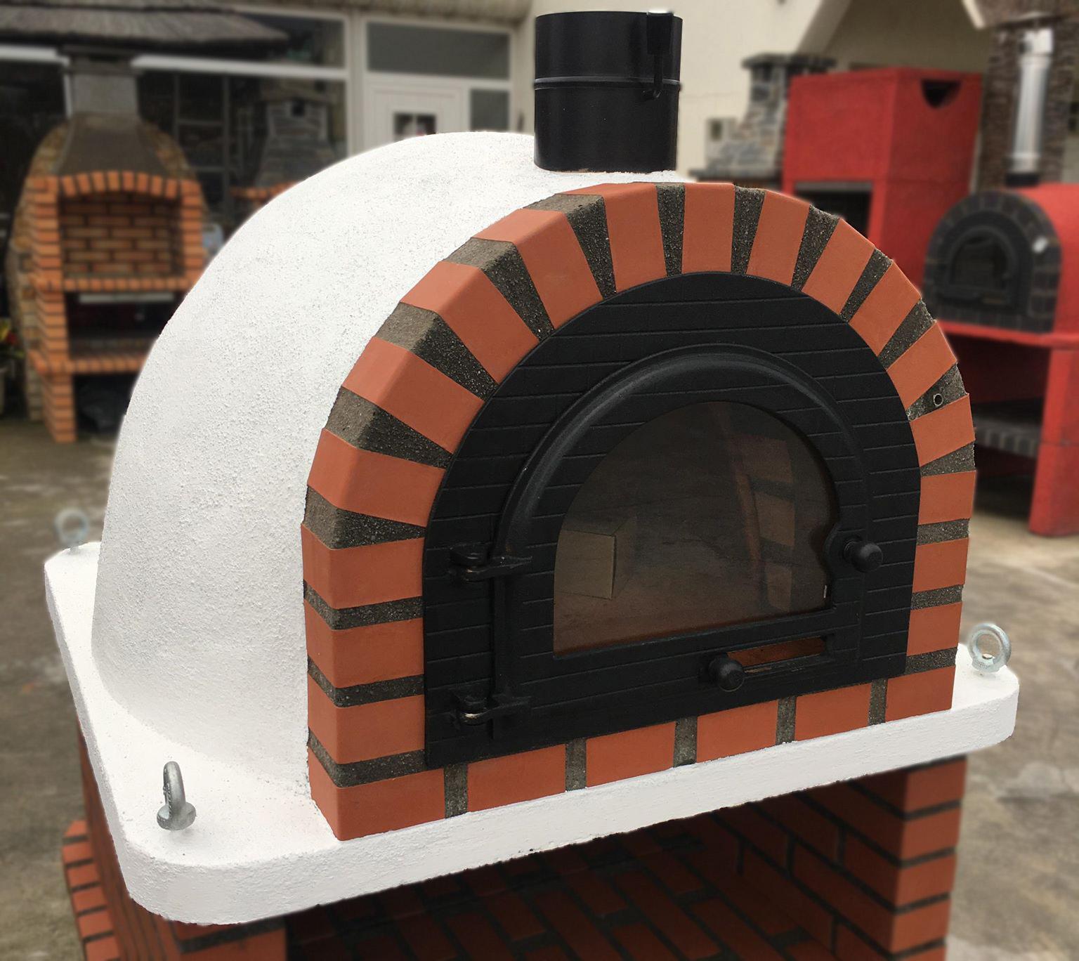 Pizzaugn | Vedugn | Stenugn Forno Traditional Standard med glaslucka