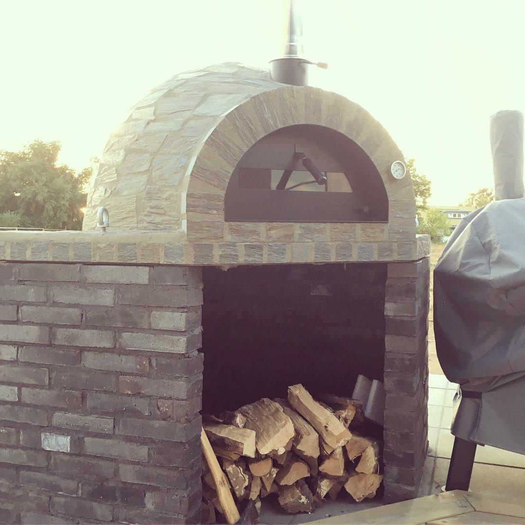 Pizzaugn | Vedugn | Stenugn Forno Stone 120x120 cm