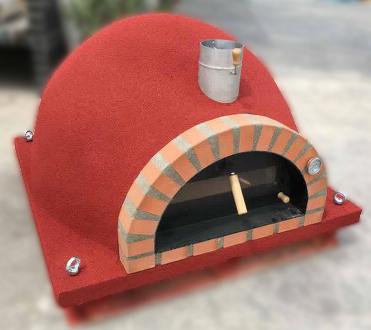 Forno Deluxe Pizza röd - rött tegel