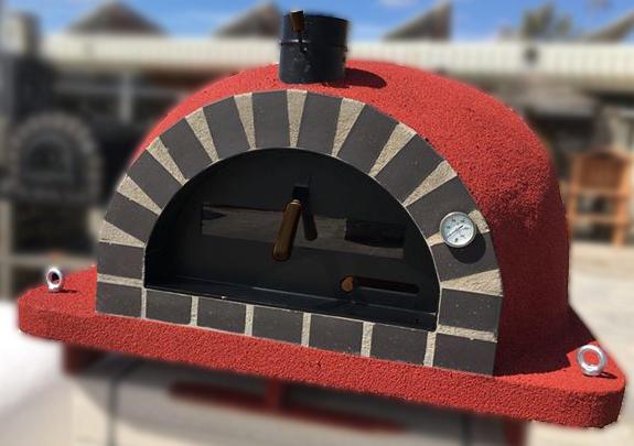 Forno Deluxe Pizza röd
