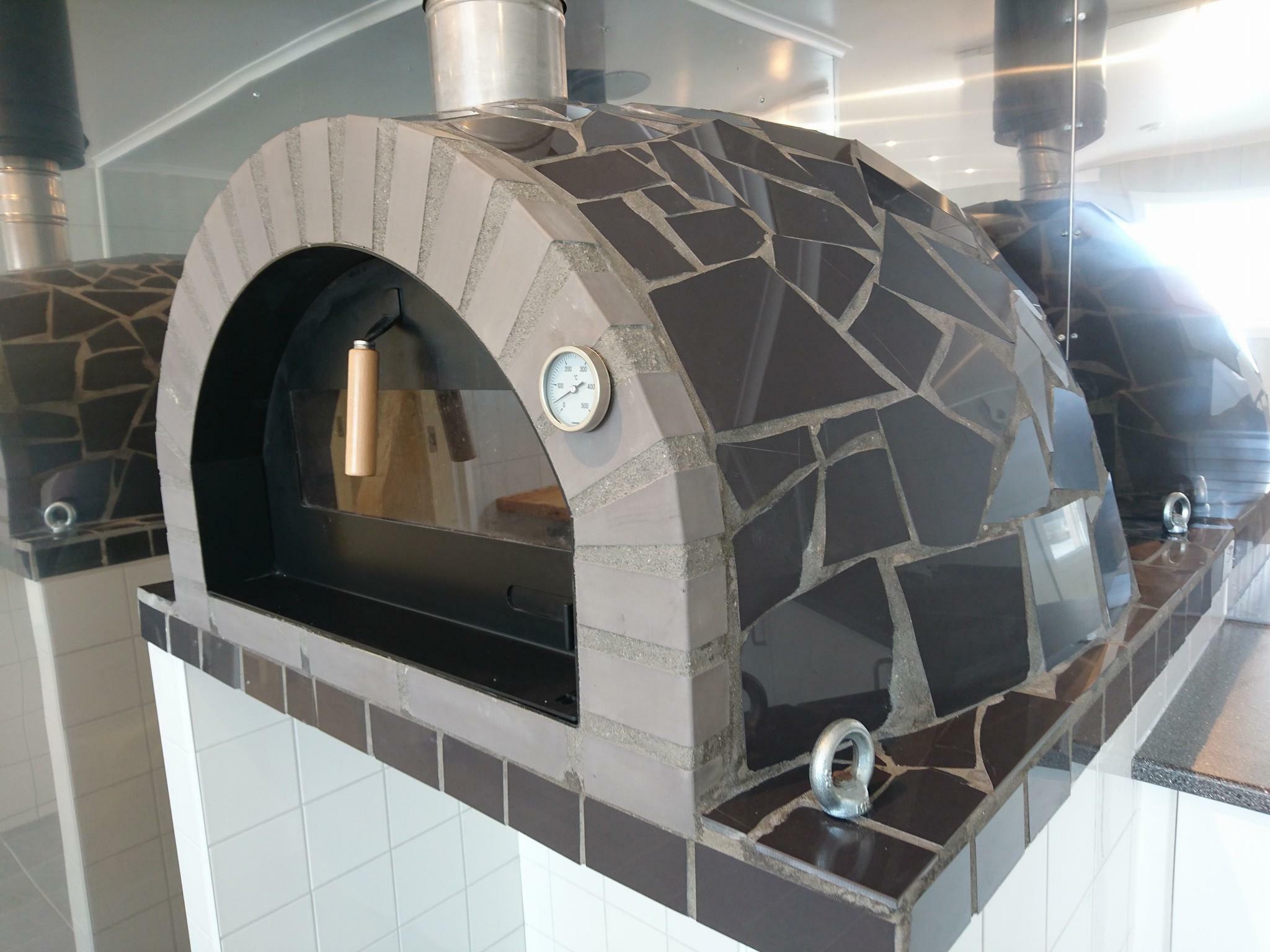 stenugn pizzaugn forno mosaic grey pizza