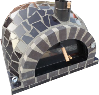 stenugn pizzaugn forno mosaic svart gammal lucka