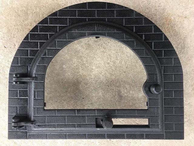 Gjutjärnslucka  Pizzaugn | Vedugn | Stenugn Forno Stone