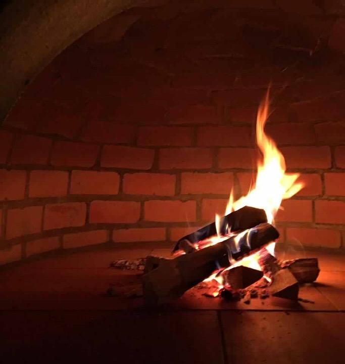 Pizzaugn | Vedugn | Stenugn Forno Stone murad insida
