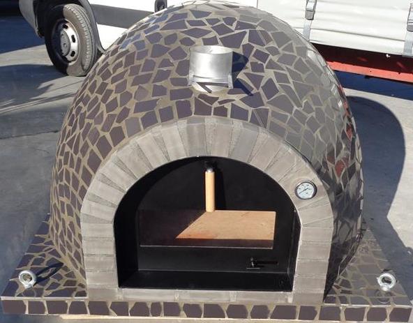 Pizzaugn | Vedugn | Stenugn Forno Mosaic (obs, gammal lucka)