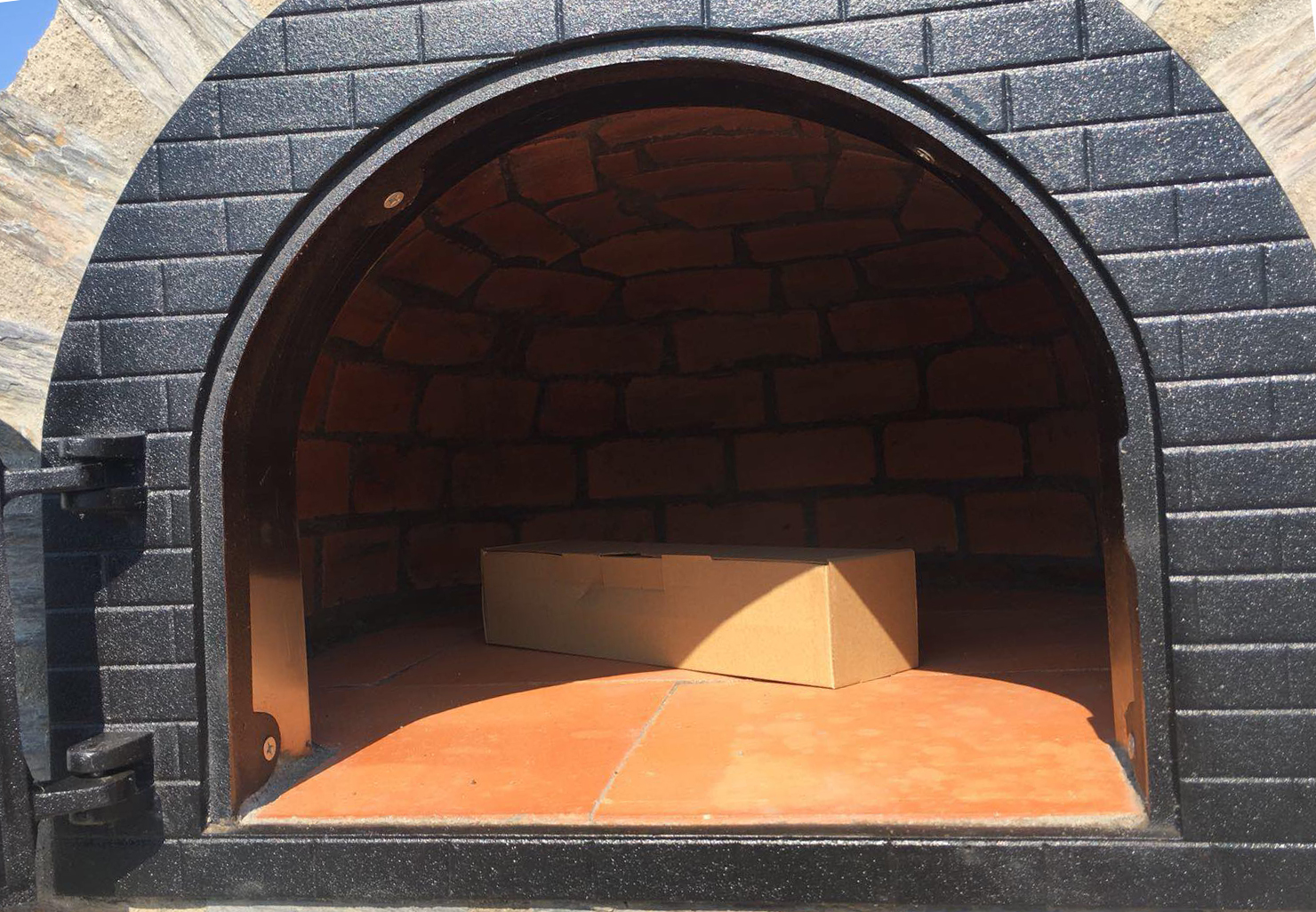 Pizzaugn | Vedugn | Stenugn  öppning