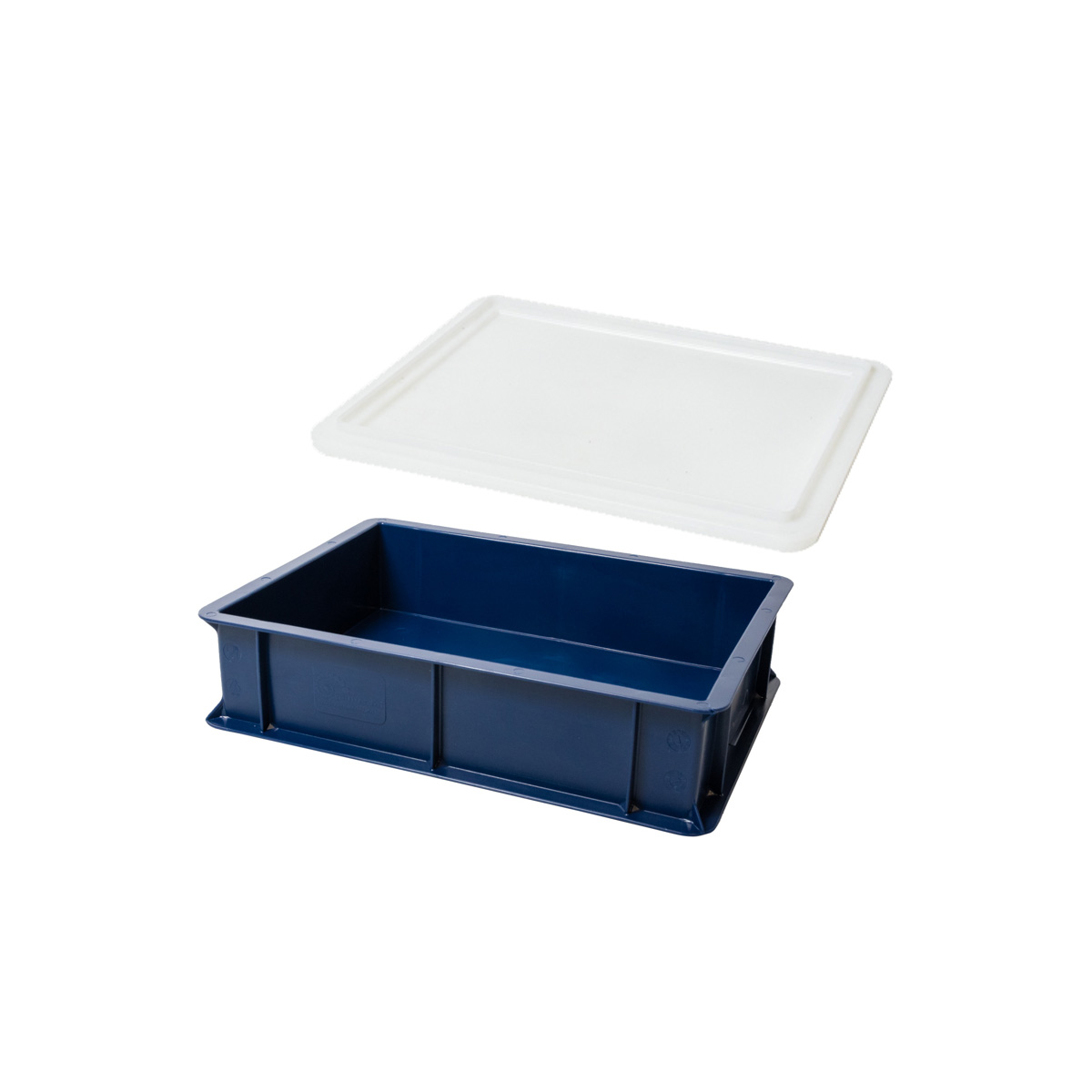 Deglåda blå 40x30 cm