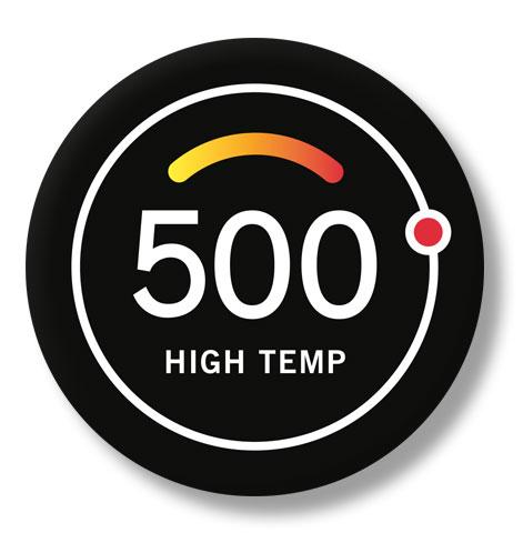500 grader High Temp Pizzaugn