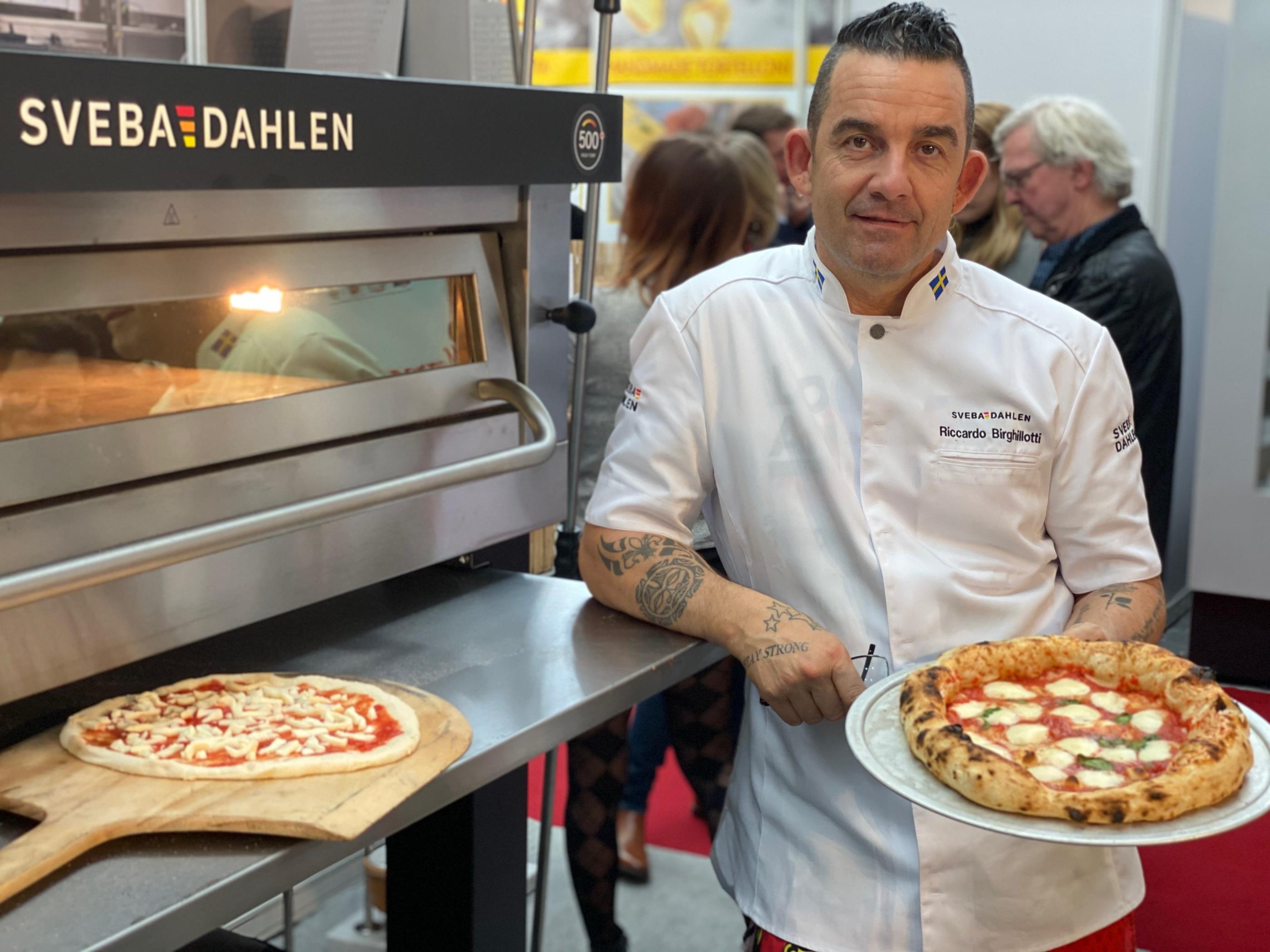 Riccardo High Temp Pizzaugn