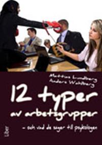 12 typer av arbetsgrupper - och vad de säger till psykologen -