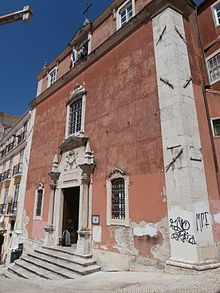 Igreja de Luis dos Franceses Lissabon Porugal
