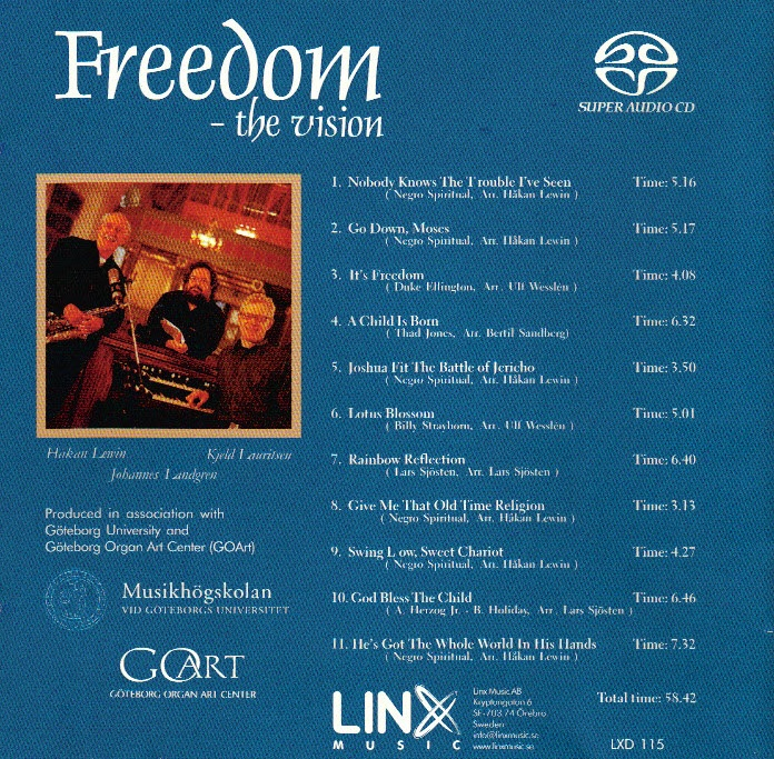 Freedom the vision 2