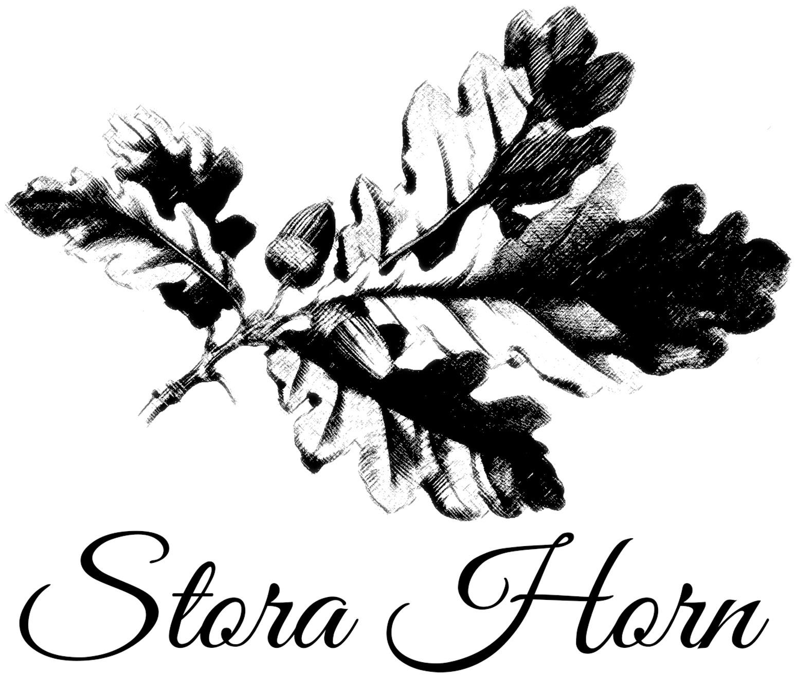 Stora Horn Logo större text