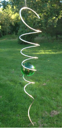 40 spiral grön