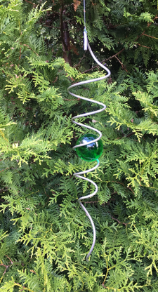 50 spiral grön