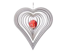 Kurvigt hjärta 35 mm kula - Kurvigt hjärta