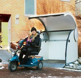 Wheelchair Garage Wheelchair Mini Garage Wheelchair