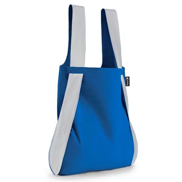 Notabag - reflex blå