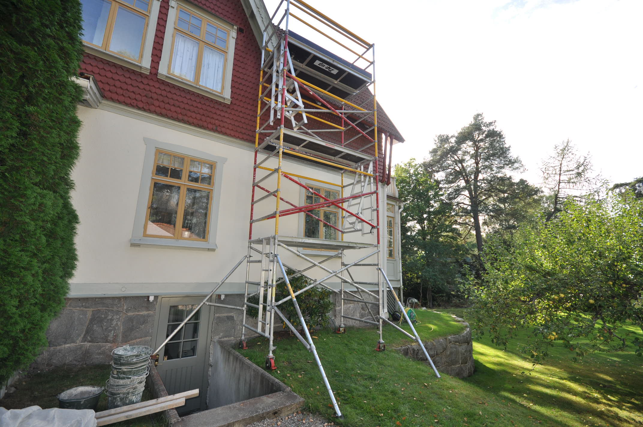 H9.se hyr byggställning i Stockholm (2)