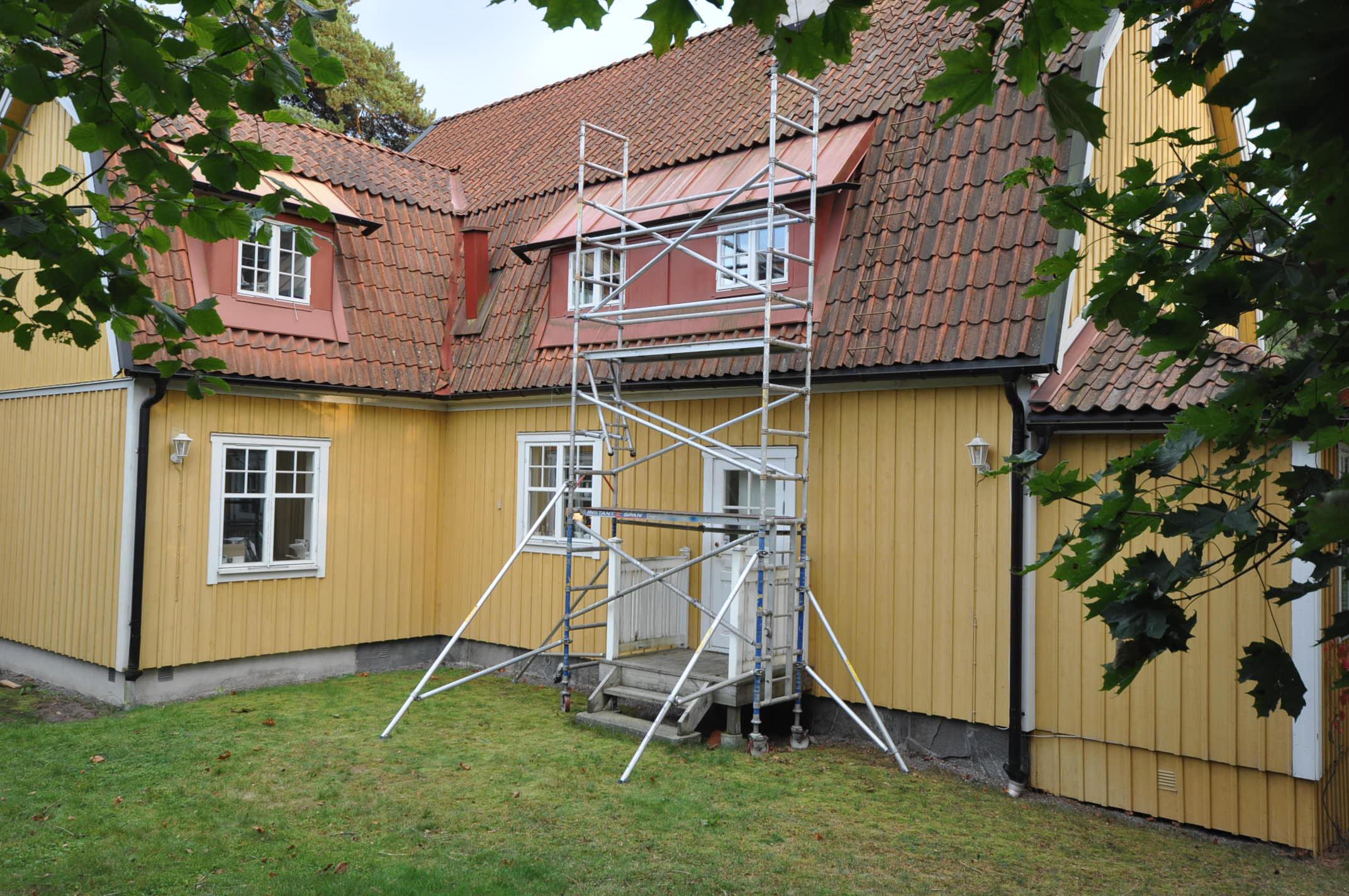 H9.se hyr byggställning i Stockholm