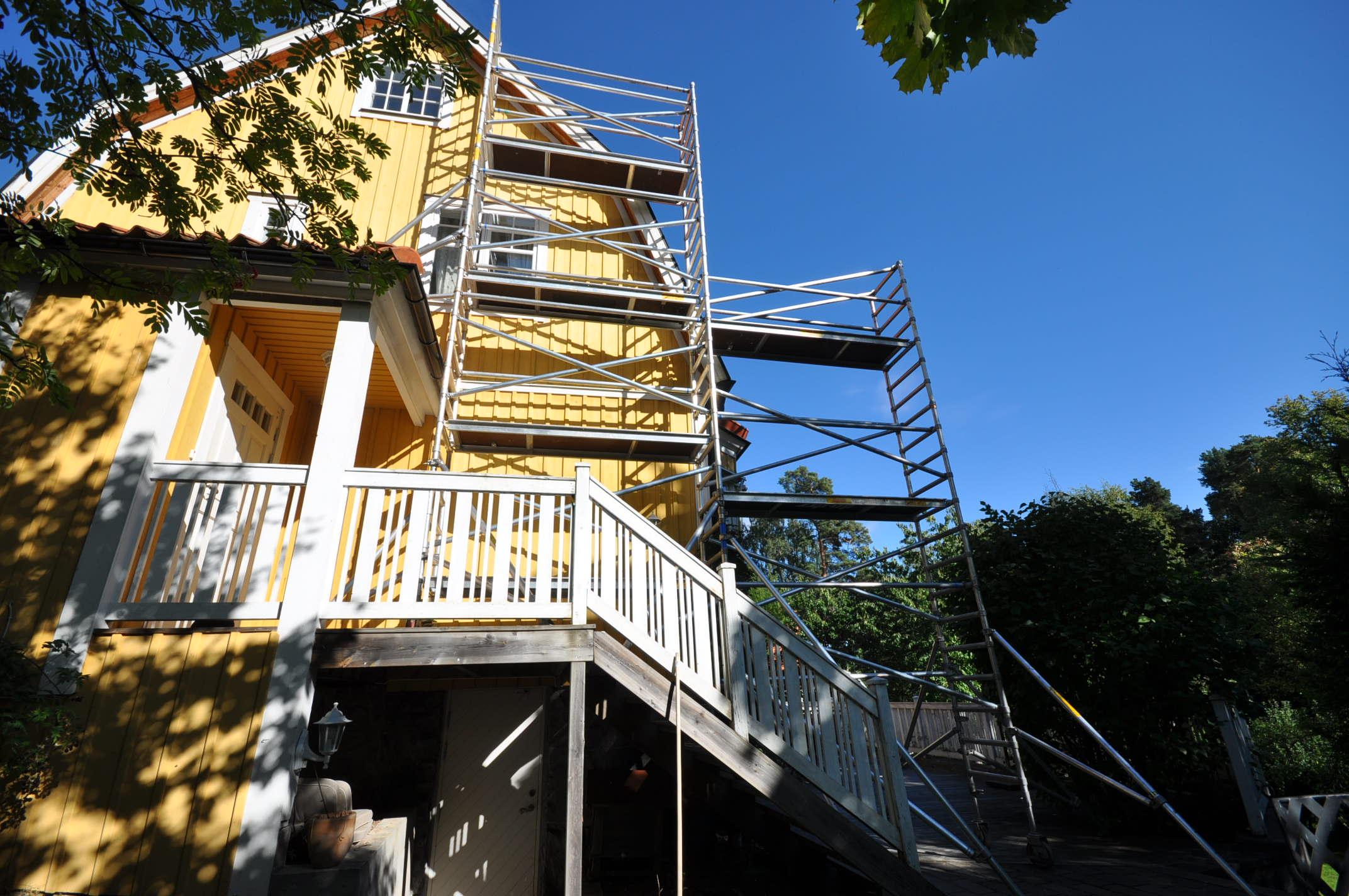 Hyr byggställning Stockholm (2)