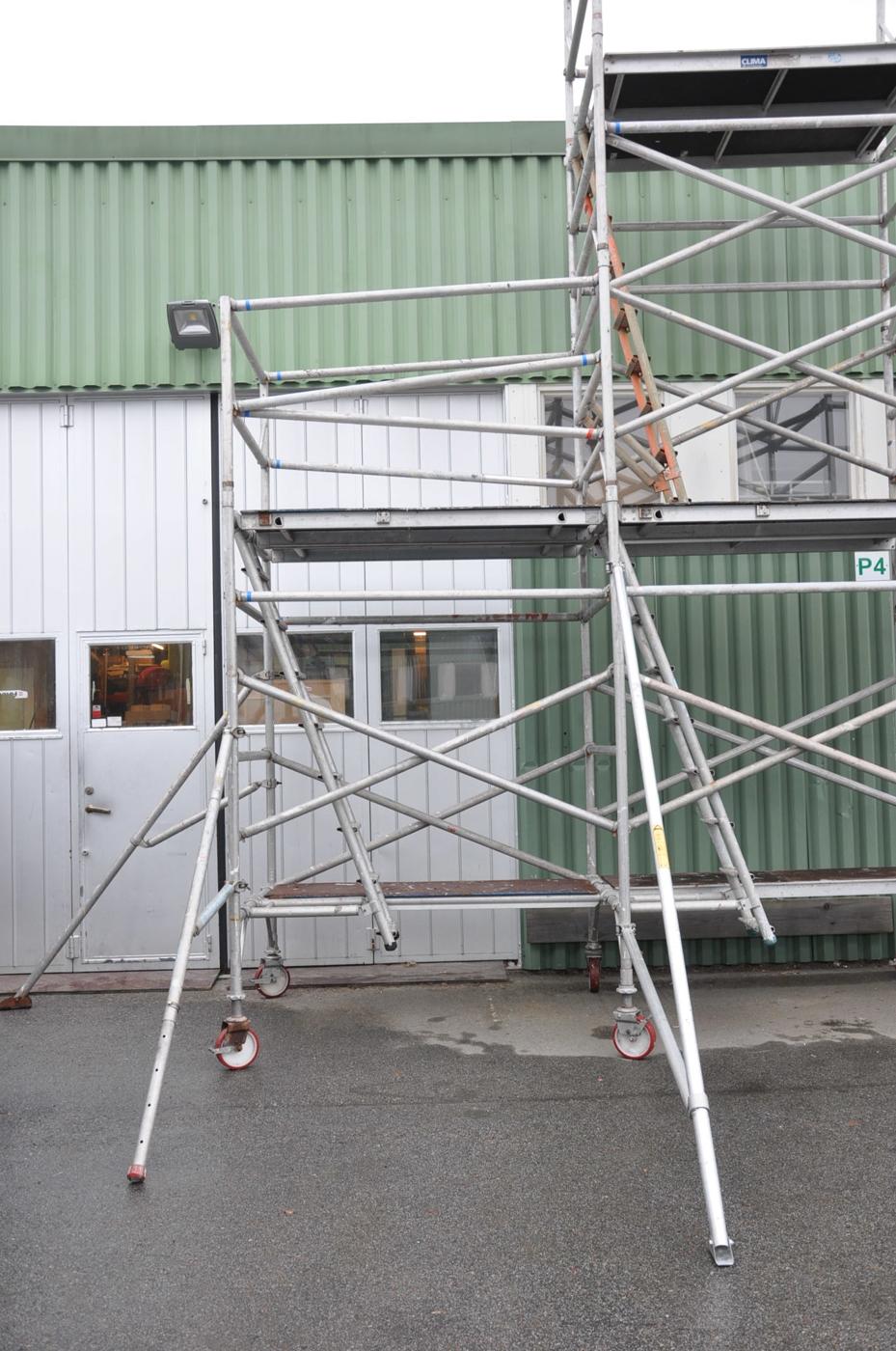 Hyra byggnadsställning Stockholm Montering (2)