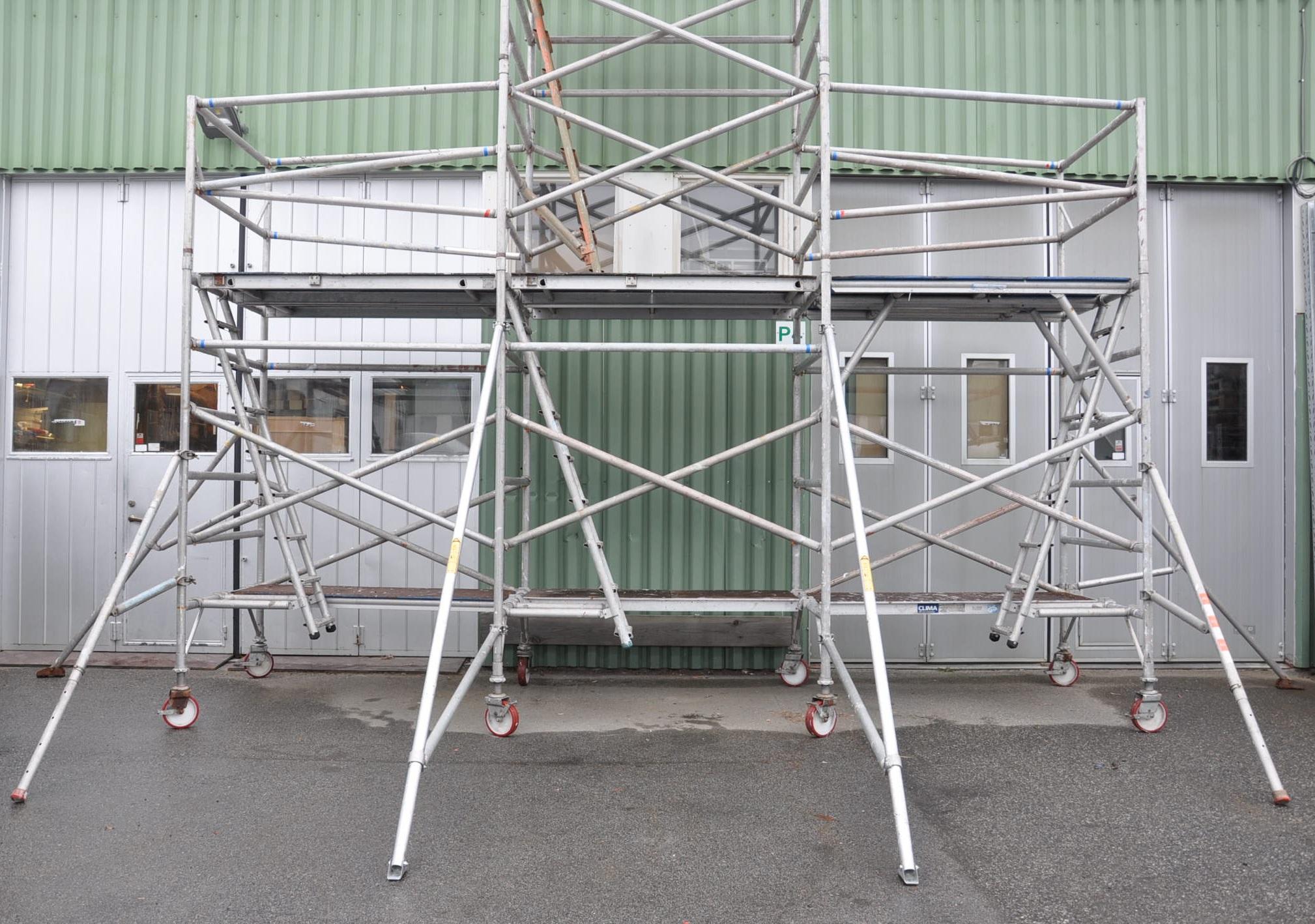 Hyra byggnadsställning Stockholm Montering (5)