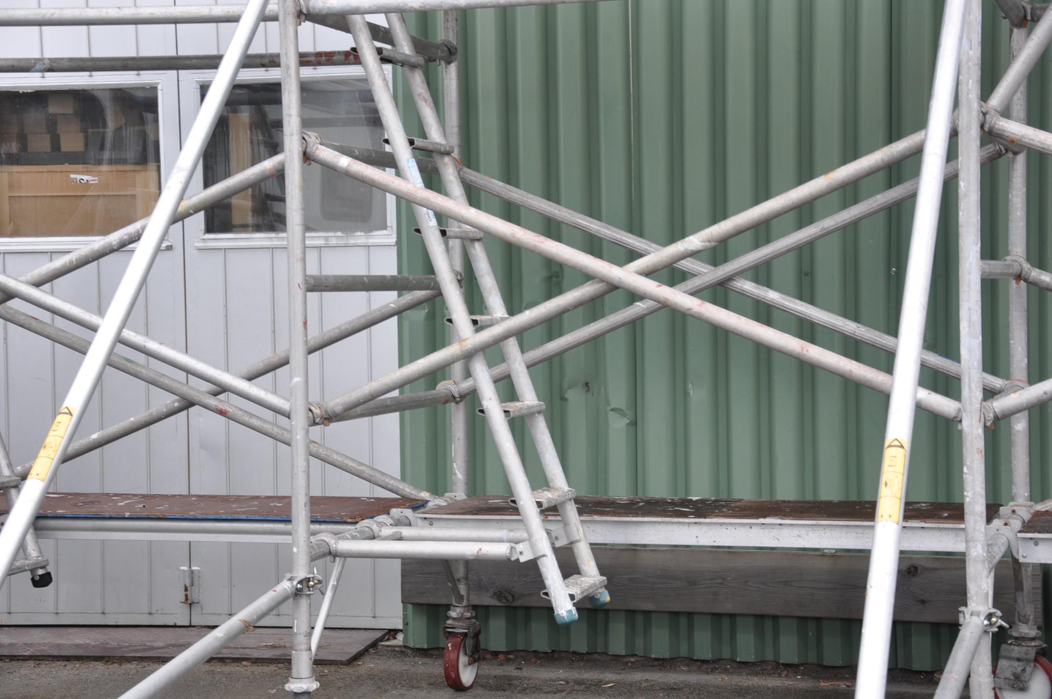 Hyra byggnadsställning Stockholm Montering (6)