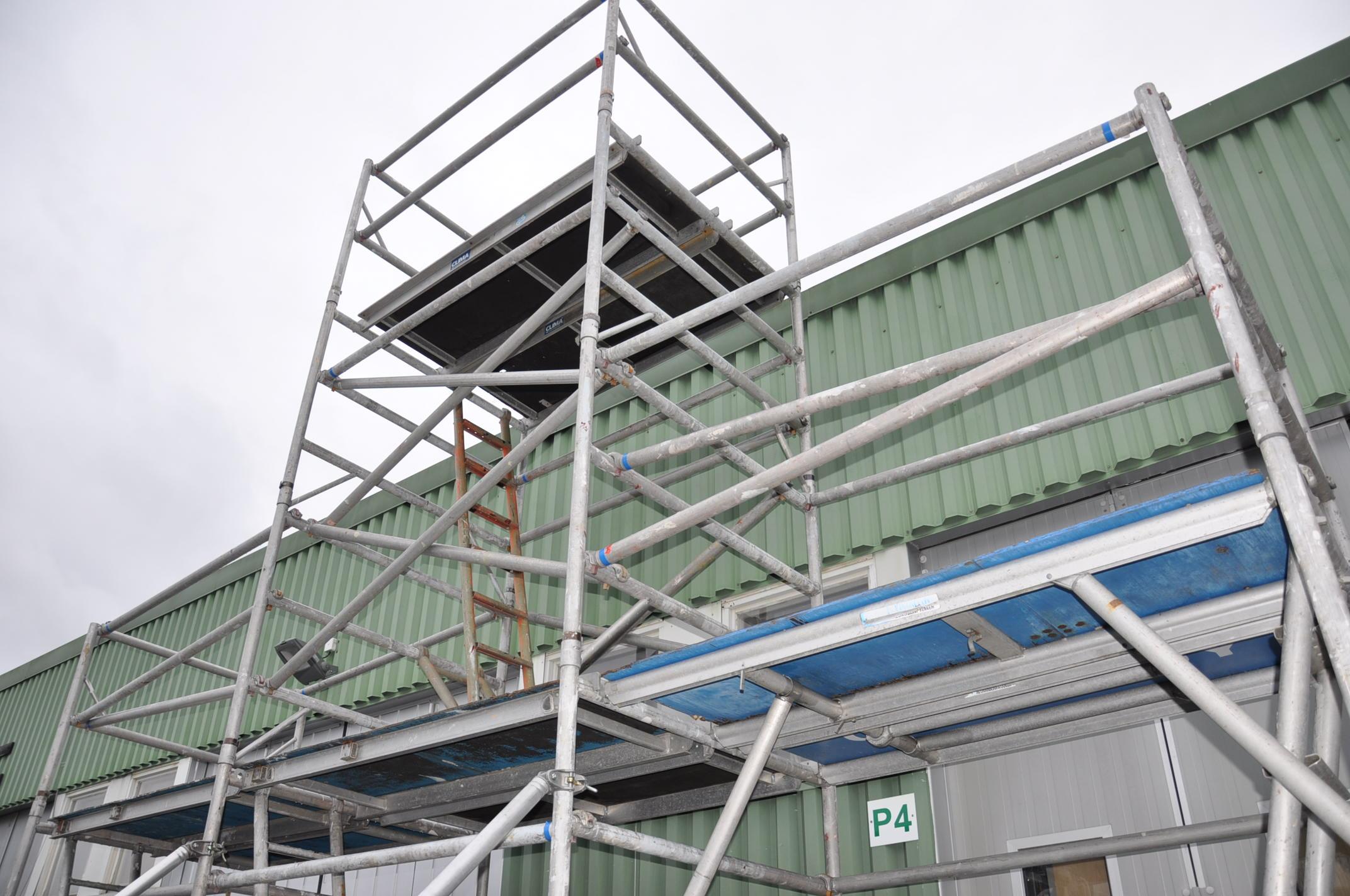 Hyra byggnadsställning Stockholm Montering (7)