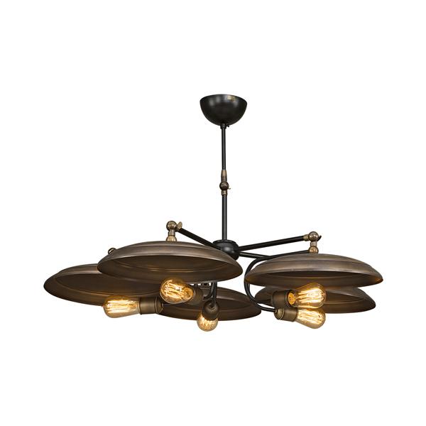 BUGA artwood taklampa billigt industriell metall glödlampor