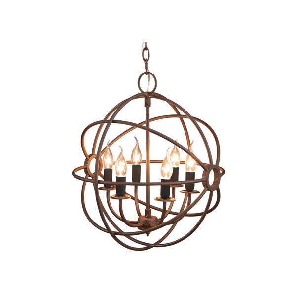 gyro small rost takkrona taklampa artwood billigt industriell metall