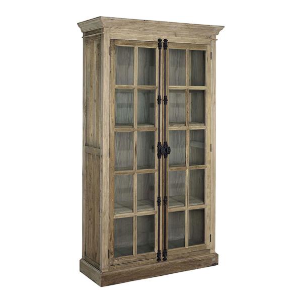 elmwood cabinet artwood billigt återvunnet trä skåp läckra handtag smideslås2