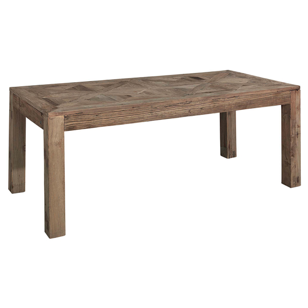 elmwood diningtable trä matbord artwood billigt rektangulärt