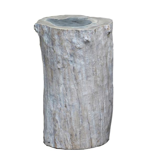 colorado log sidetable stool sidobord pall artwood trä betong billigt