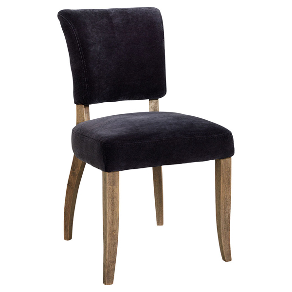 MIMI Diningchair Velvet Graphite