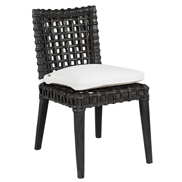 Utemöbler ASPEN Diningchair Black