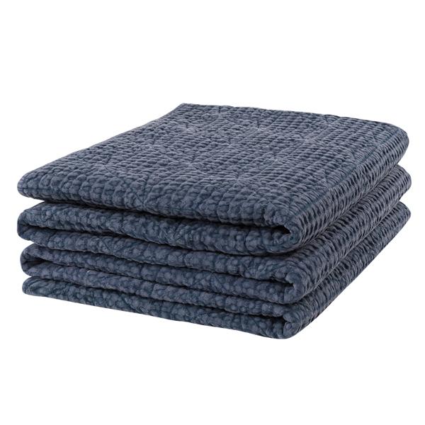 ANTONI NAVY BLUE Bedspread LITET