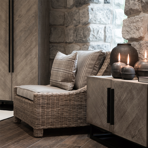 VANCOUVER Dresser tv-bench pepples grey miljöbild 1