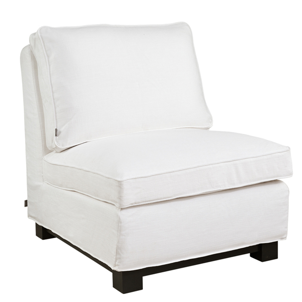 TOWN Armchair tobago white