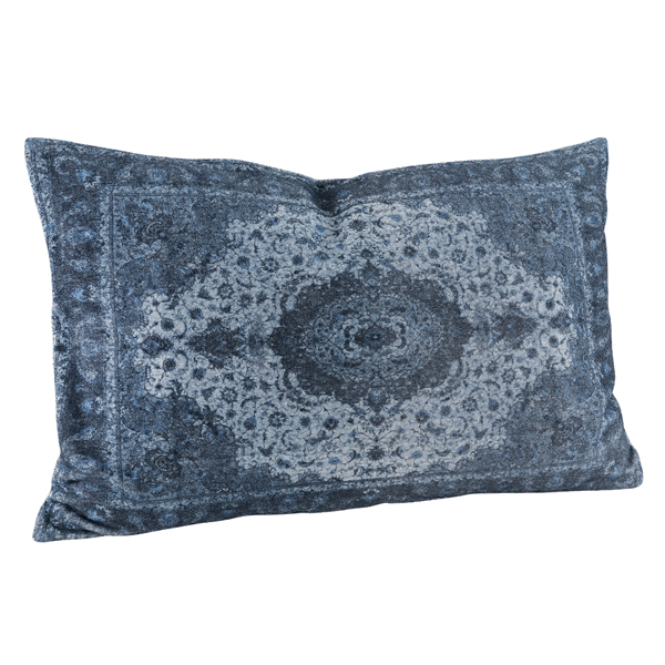 ARIANNA PAISLY BLUE Cushioncover 60x40