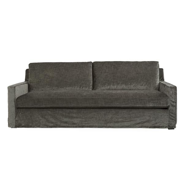 GUILFORD Sofa 3-s Celeste taupe tygsoffa billigt artwood online vardagsrum