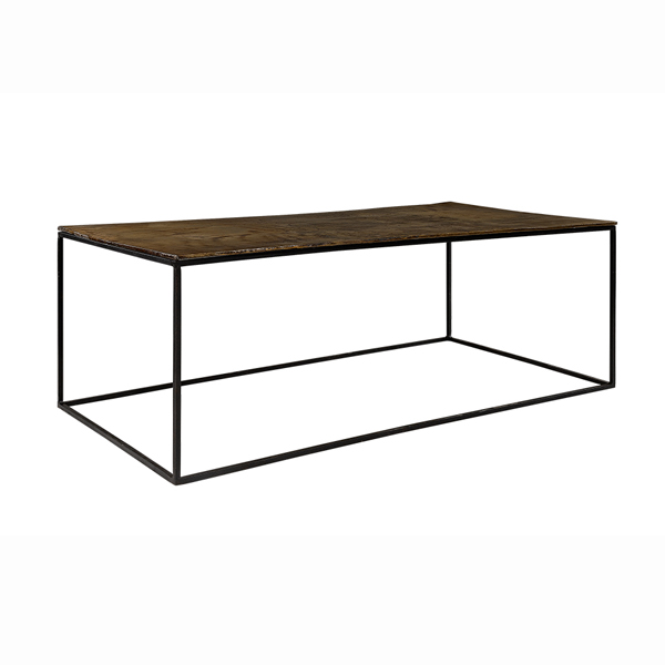 MILLE Coffe table vintage brass