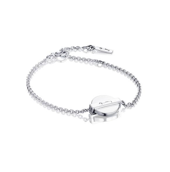 Silver Coin Bracelet 14-100-01036(1)