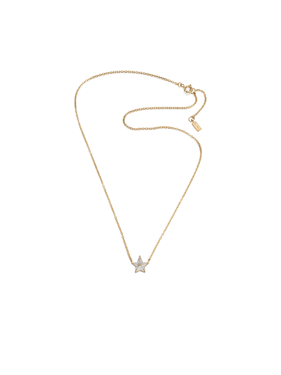 Catch A Falling Star Stars Necklace 10-101-01407(1)