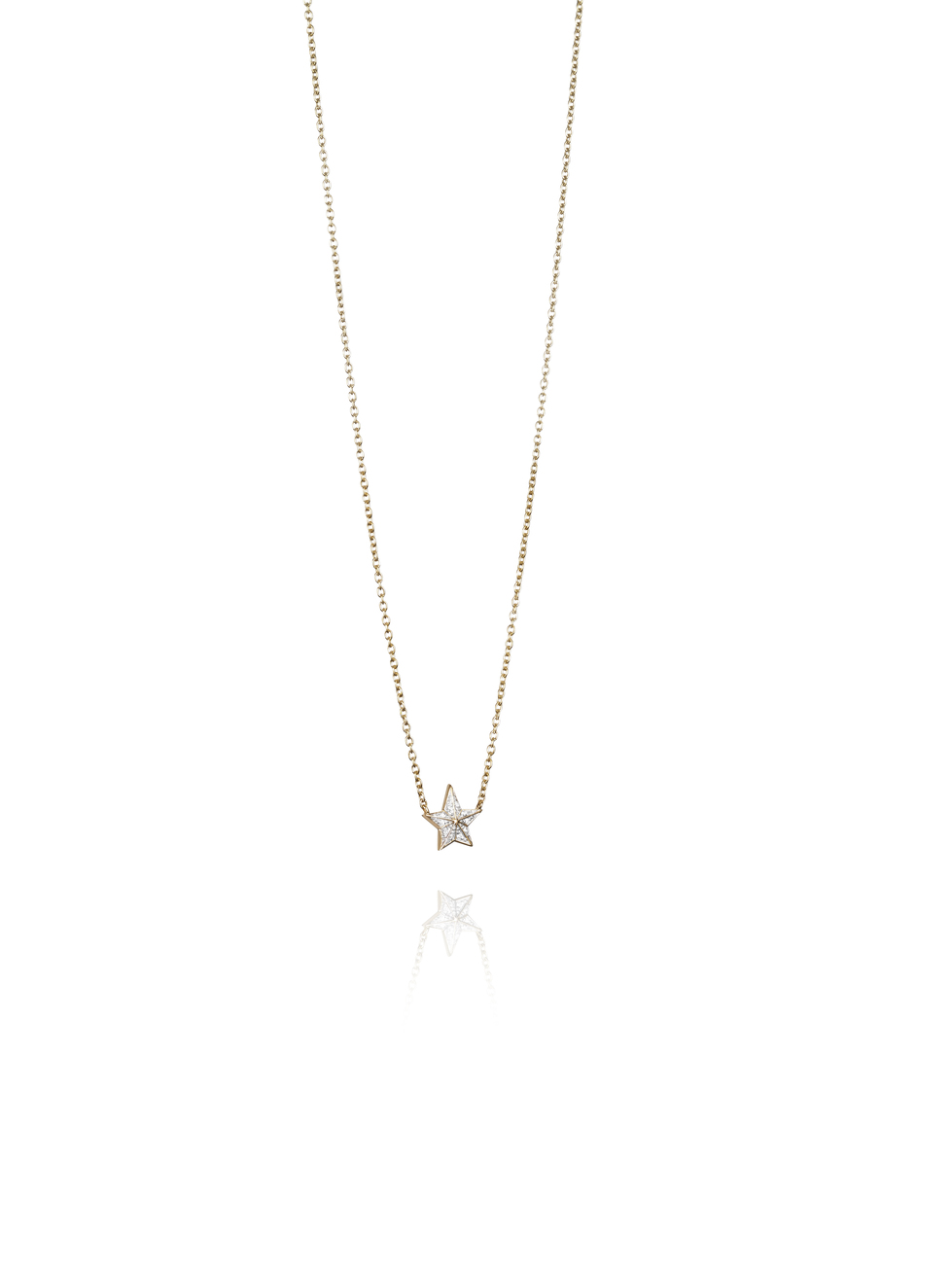 Catch A Falling Star Stars Necklace 10-101-01407(2)