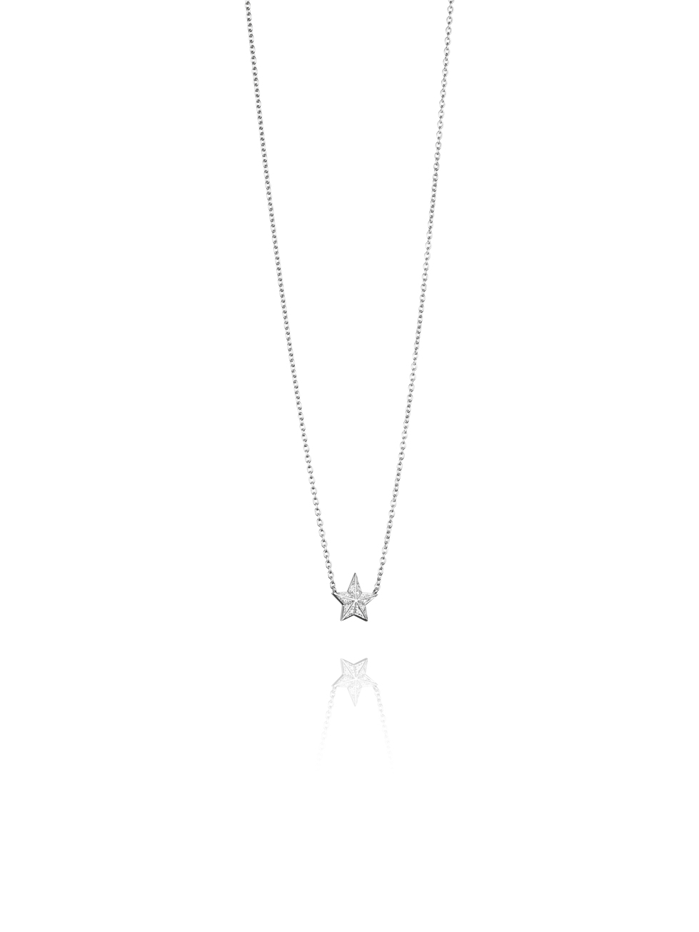 Catch A Falling Star Stars Necklace 10-102-01407(2)