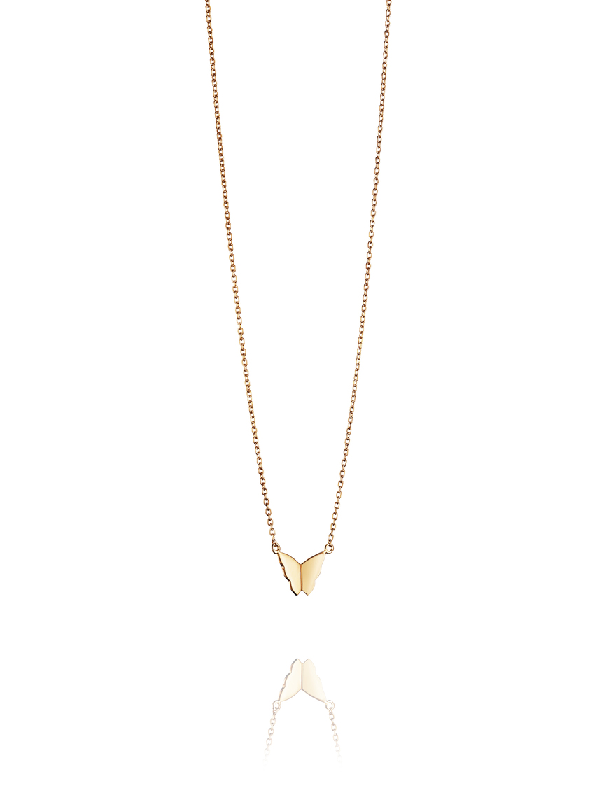 Little Miss Butterfly Necklace 10-101-01017(2) 2
