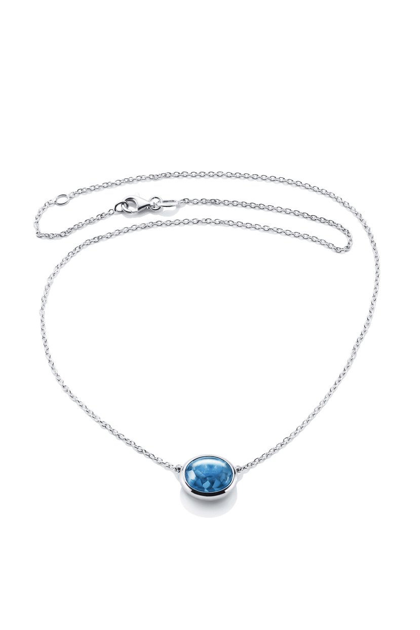 Love Bead Grande Necklace - Topaz 10-100-00451(1)