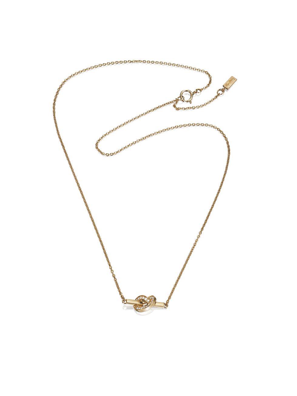 Love Knot & Stars Necklace 10-101-01303(1)