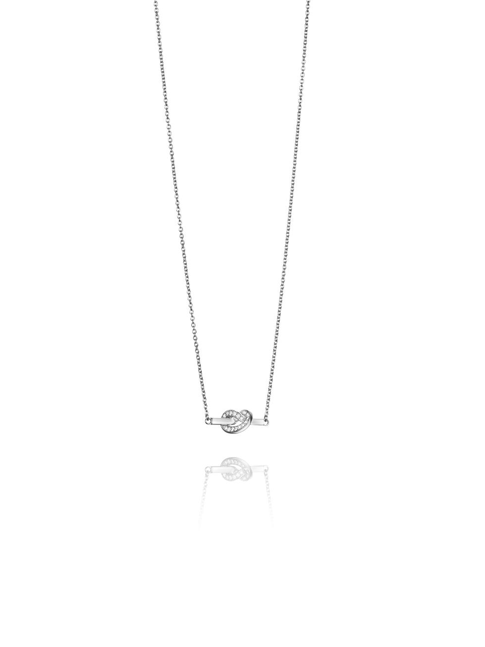 Love Knot & Stars Necklace 10-102-01303(2)